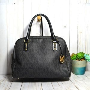 Michael Kors Cindy Large Domed Satchel Bag